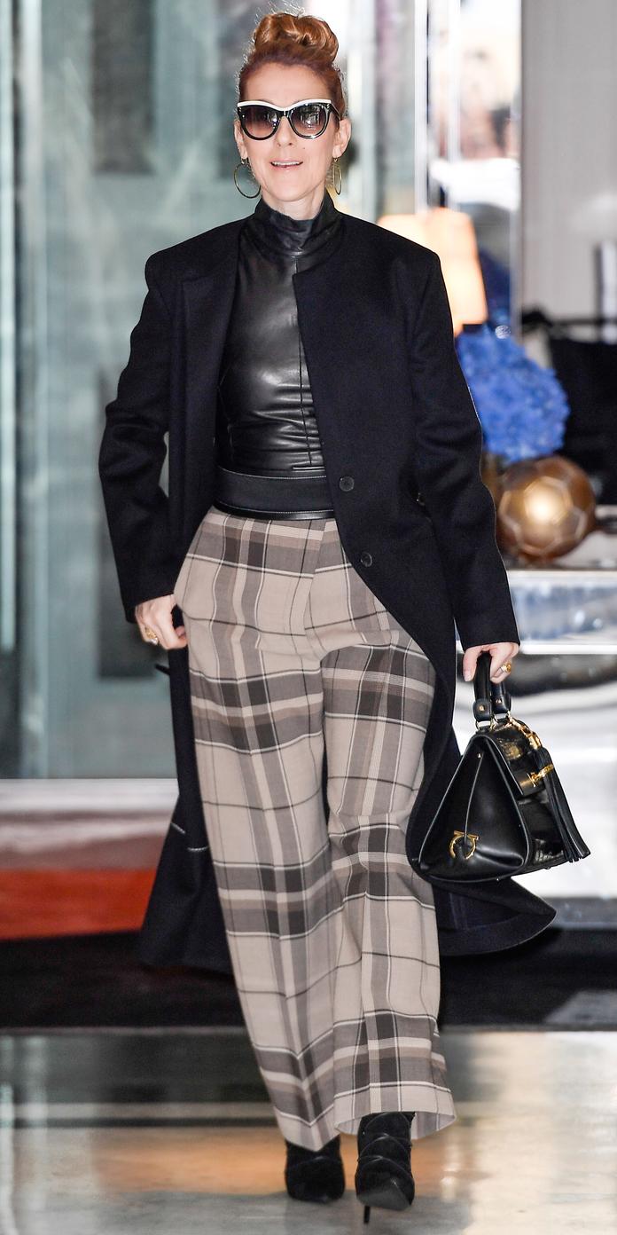 Celine Dion Em 12 Looks De Streetstyle